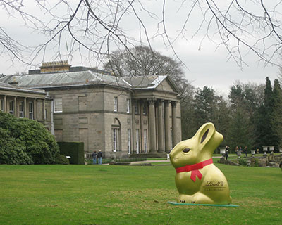 Lindt Gold Bunny at Tatton Park