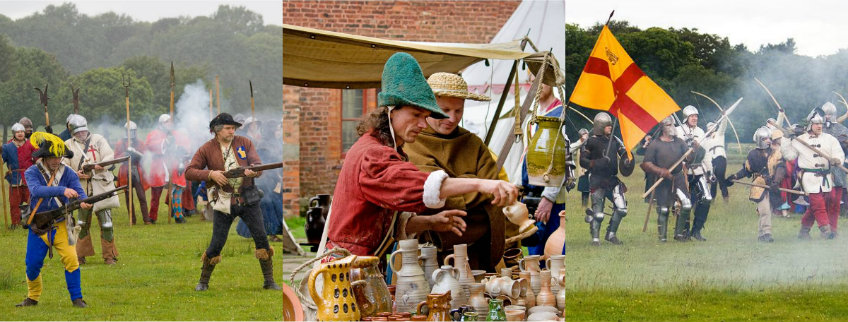 Medieval Fayre collage