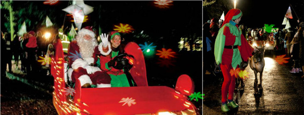 christmas-lantern-parade-collage