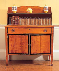 Gillows sheveret cabinet